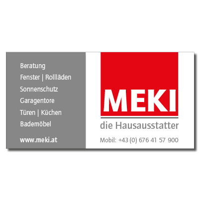 Meki - der Hausausstatter - Sponsor des Thiersee Triathlons