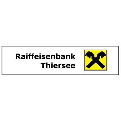 Raiffeisenbank Thiersee Sponsor des Thiersee Triathlons