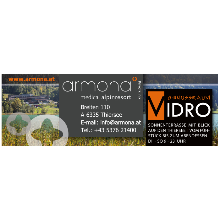 ARMONA Sponsor des Thiersee Triathlons
